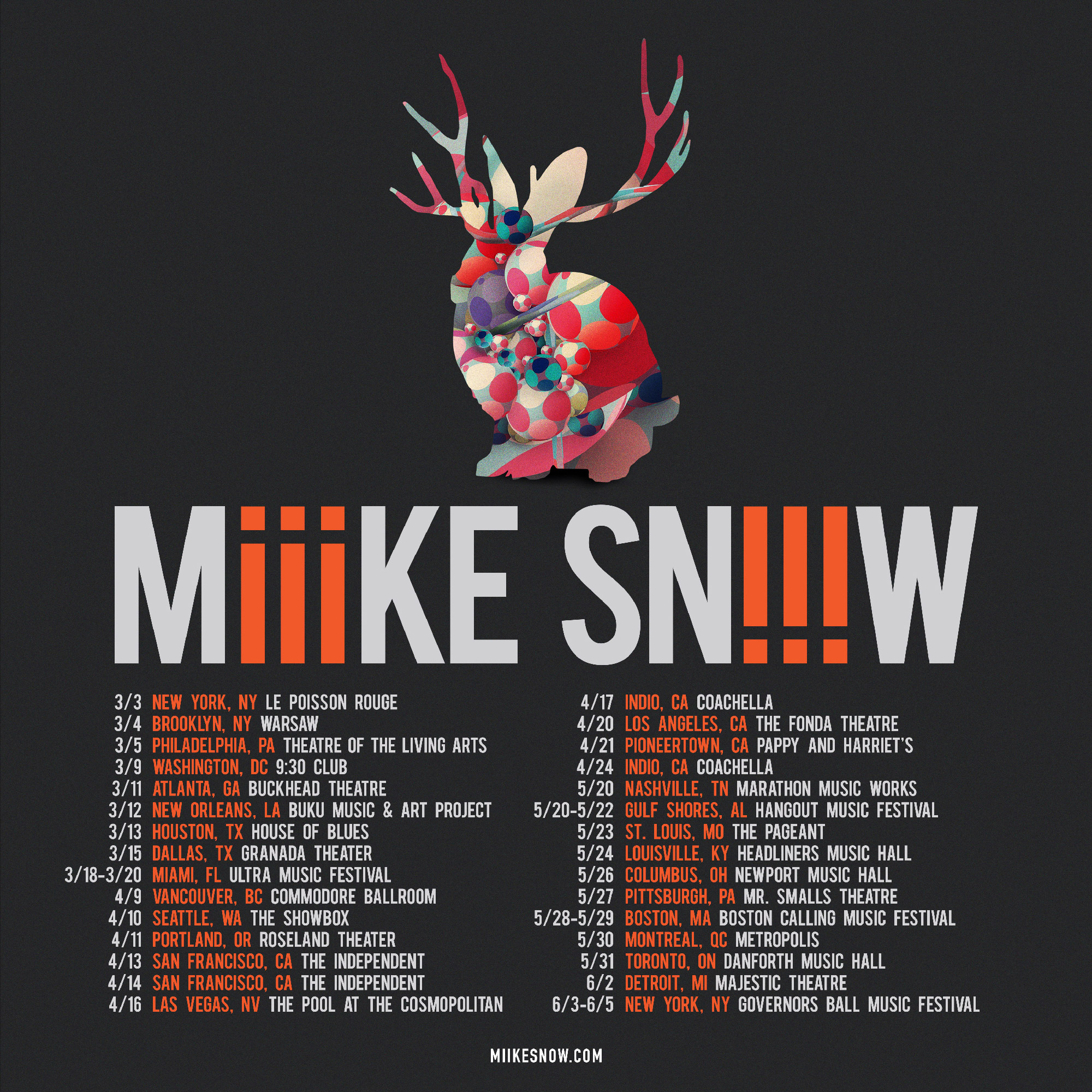 Miike snow Are we going to get snow this year 2016